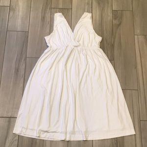 NY&Co white dress size L
